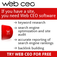 Try Web CEO SEO Software for free