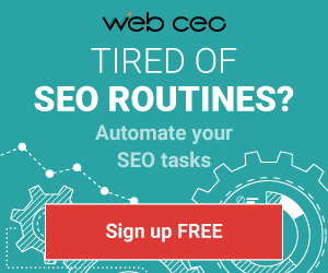 Web CEO SEO Tools